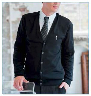 SeaHorse-Collection, men's cardigan, 59,99€