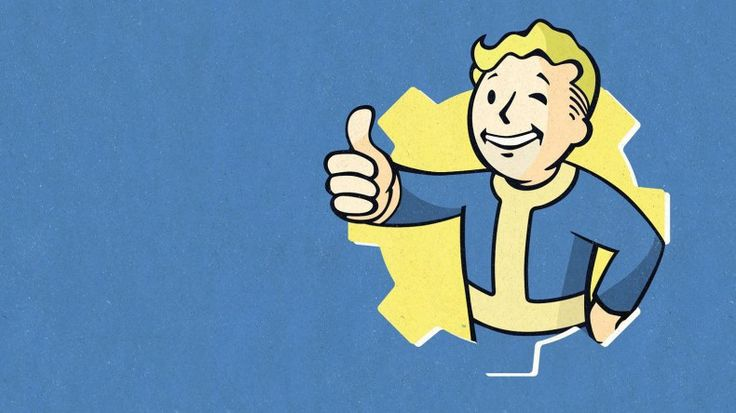 Fallout 4 Vault Boy Wallpaper HD