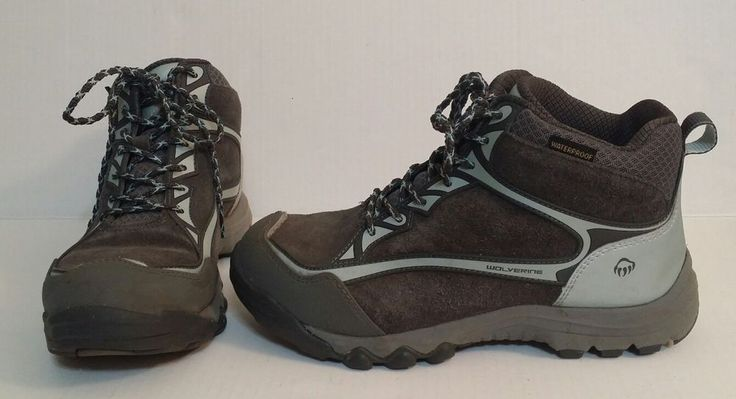 Wolverine Steel Toe Hiking Boots Waterproof Oil Slip Resistant Womens 9M Blue | Clothing, Shoes & Accessories, Women's Shoes, Boots | eBay!