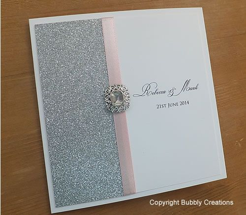 25 best Glitter Sparkly Wedding Invitations and Stationery images on