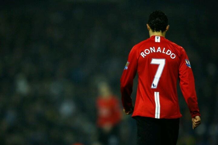 Manchester United Cristiano Ronaldo #7 CR7