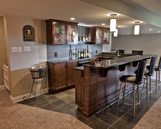 Best Home Bar Pictures. Finished Basement ...