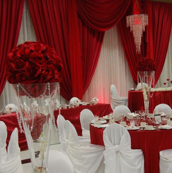 Party Wedding Supplies For Sale In Tampa Fl Offerup White Wedding Decorations Red And White Wedding Decorations White Wedding Theme