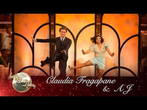 Claudia Fragapane & AJ Pritchard Charleston to 'You Give a Little Love' - Strictly 2016: Week 3 - YouTube
