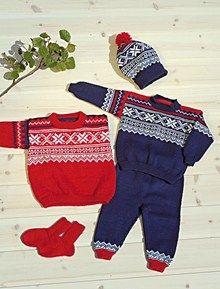 Genser, bukse, sokker & lue (in Norwegian)