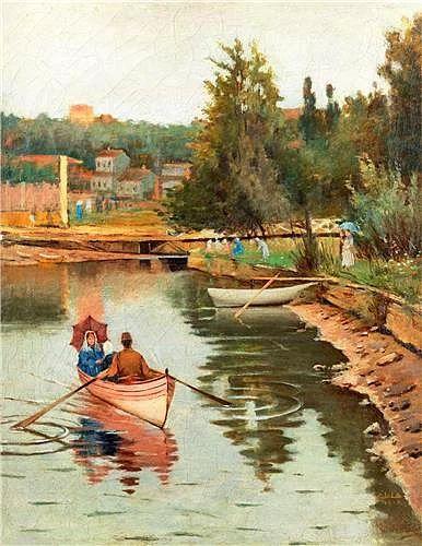 """""""Göksu Sefası"""", Halil Paşa (1857 – 1939)"""