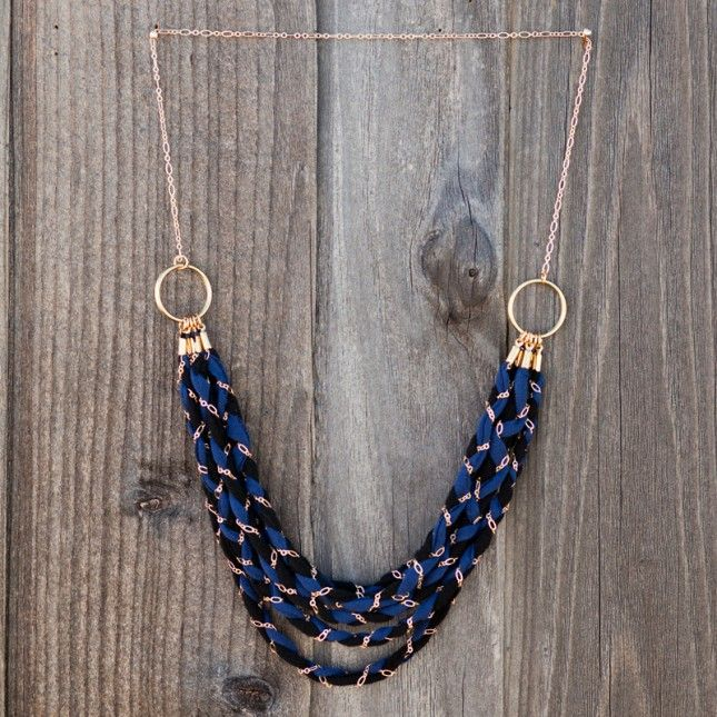 Hit up the hardware store, stock up on copper tubing and repurpose an old t-shirt into a beautiful jewelry. See this #DIY tutorial to create your own earrings, necklaces and bracelets.