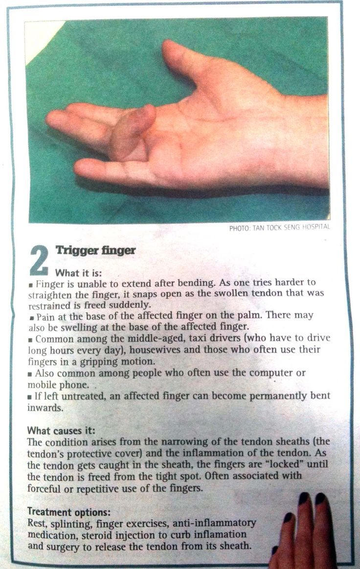 surgery after physical therapy thumb