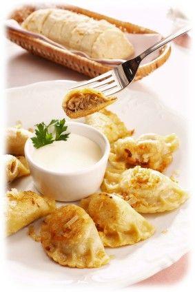 Pierogi farce au fromage blanc / chou / viande                                                                                                                                                                                 Plus