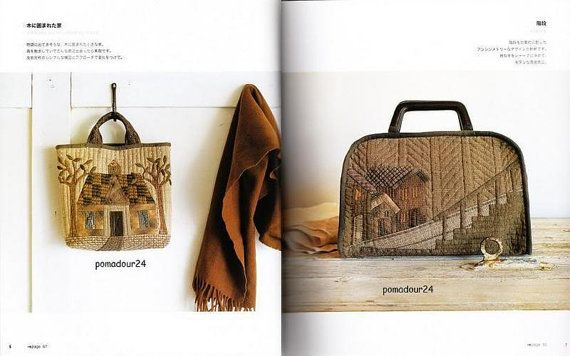 HOUSES HOUSES HOUSES Quilt Japanese Craft Book от pomadour24