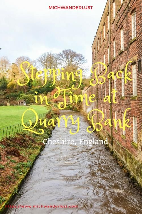 Just a few miles from Manchester Airport in England lies Quarry Bank, an old cotton mill in beautiful grounds - a great place for a day out if you're sick of the city. #England #travel #Manchester