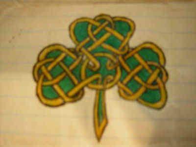 Celtic Tattoo Clover