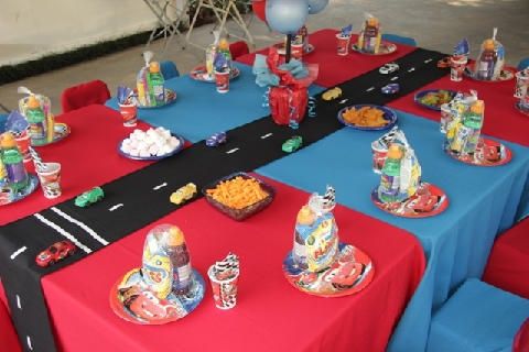 Love this Cars 2 Theme by Shindig Sisters Party Planners - Durban