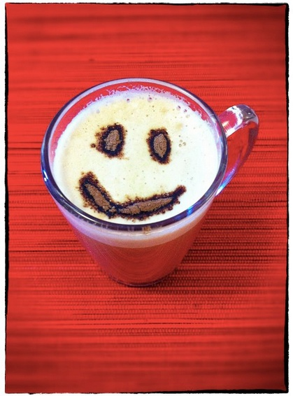 NESCAFÉ Cappuccino with a smile of chocolate