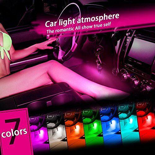 Thunder 12v 4 3 Led Car Interior Decorative Atmosphere