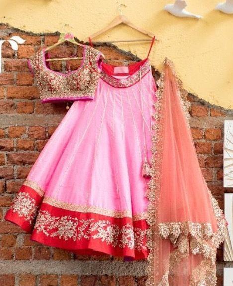 Anushree reddy pink lehenga choli $2,000