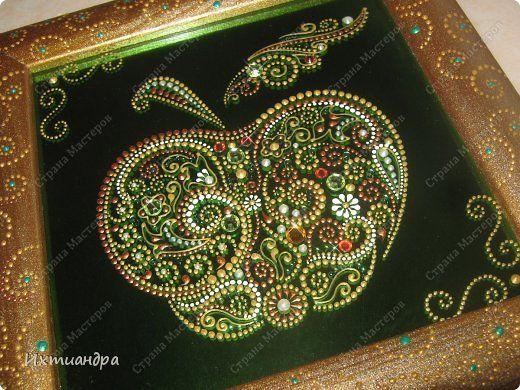 Картина панно рисунок 8 марта Витраж Витражные цветы для прекрасных дам Краска Стекло фото 10