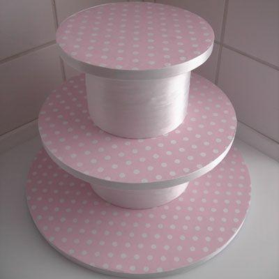 DIY – How to make a cupcake stand/cupcake tower – cupcakes & mini cakes