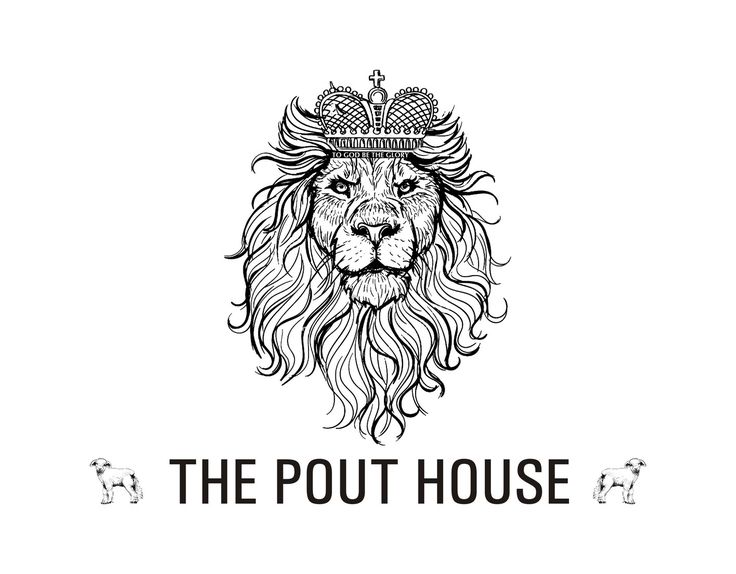 The Pout House Logo Designed By PrintPedia.co.uk . Get in Touch with us for logo design for your business. Call UK: 020 800 46 800  #logo #logodesign #logodesigner #london #liverpool #centrallondon #manchester #bristol #leeds #yorkshire #brighton #cambridge #oxfords #blackpool #shoreditch #bucks