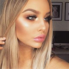♡ that highlight for glowing skin.