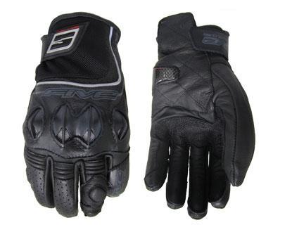 Five Supermotard Gloves Black