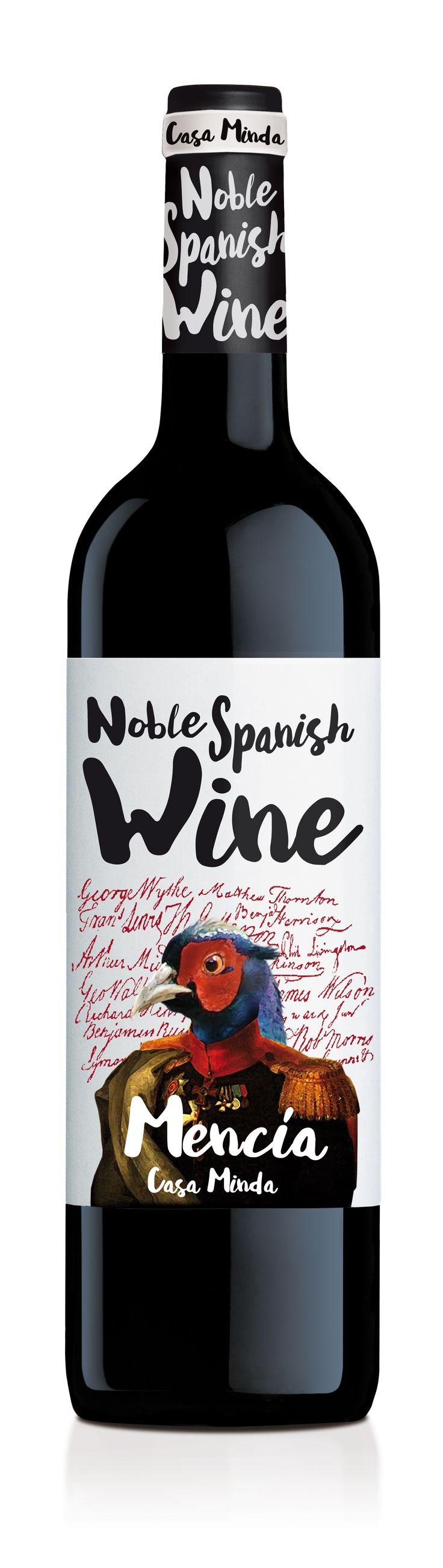 Mencía • Noble Spanish Wine