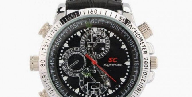 Deskripsi Produk Xtreme Spy Cam Jam Tangan 8GB Kulit - Hitam (Camera Watch)
