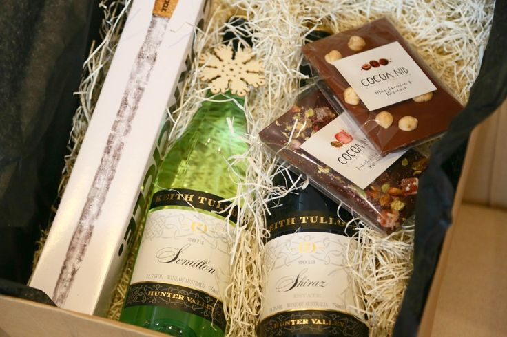 Our gift boxes can be loaded with your choice of two wines plus Cocoa Nib chocolates and Corkcicle, and sent anywhere in Australia.