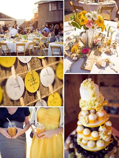 Yellow yellow yellow yellow whimsical-wedding-details