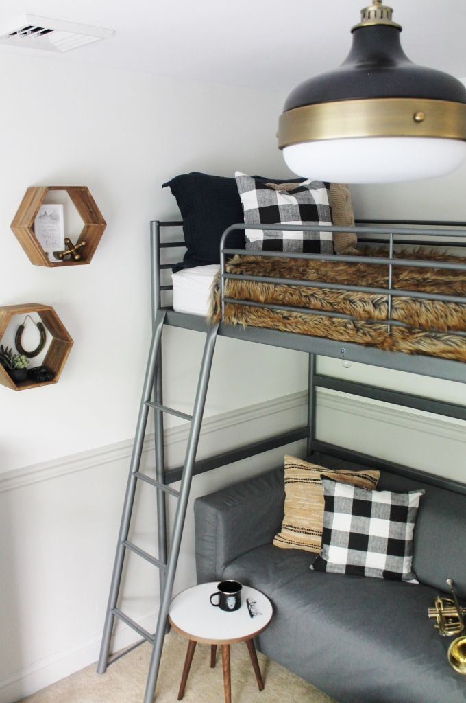 17 Best Ideas About Loft Bed Curtains On Pinterest Tween