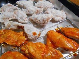 Receta de Receta de alitas de pollo rebozadas al horno
