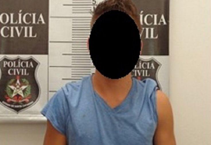 A Polícia Civil, através da Delegacia de Polícia da Comarca de São Miguel do Oeste, prendeu ontem (03), um homem com 19 anos suspeito da prática de crime de roubo praticado nesta cidade no dia 07