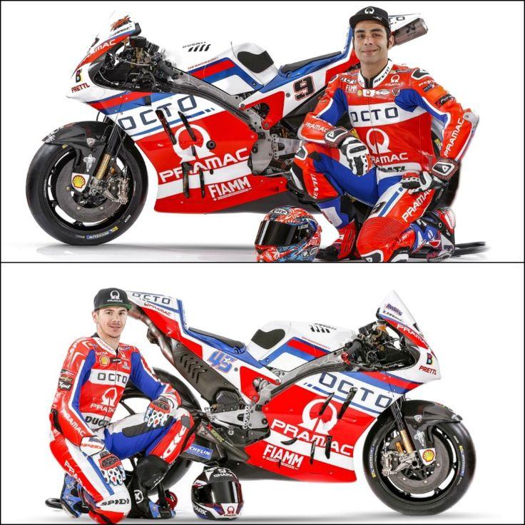 Redding, Petrucci present Pramac MotoGP livery