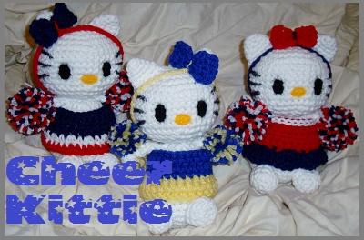 iBcraftie Crochet Original Designs Cheer Kitties