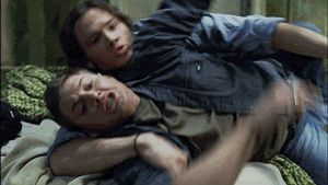 "Still laughing about this being an actual scene | Community Post: How You Know You're A ""Supernatural"" Fan"