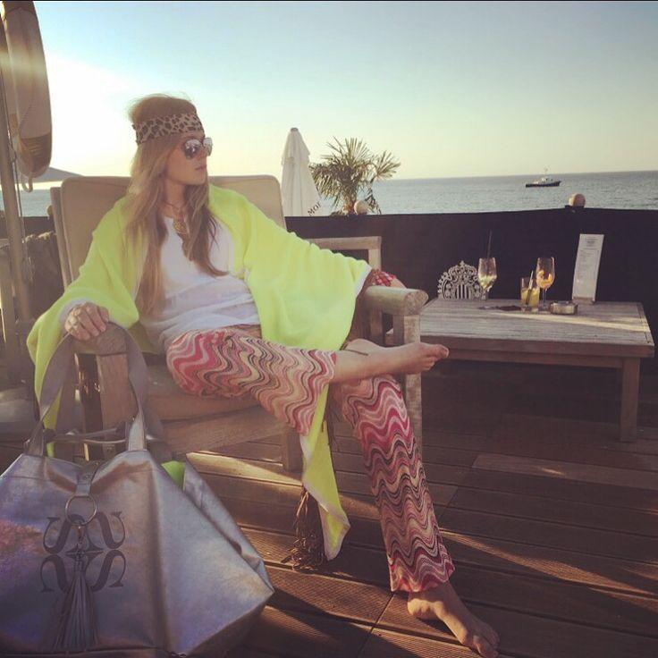 Summer in Heiligendamm #grandhotel #simonebruns #cashmere #luxury #cashmerescarf #butterfly