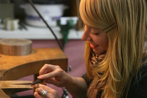 Anneke Van Bommel  - Jewelry design.