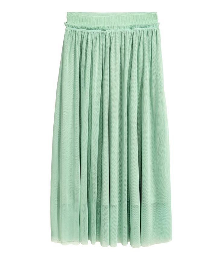 Tulle Skirt | Mint green | Women | H&M US