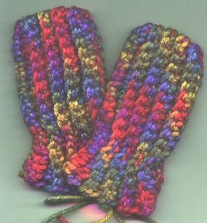 Crochet Thumbless Baby/Toddler Mittens