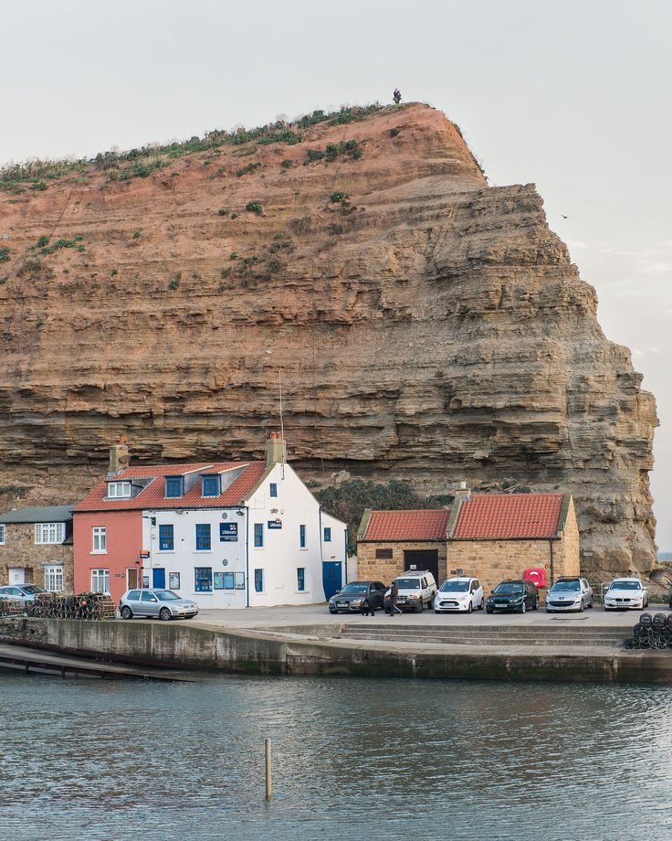 Staithes, North Yorkshire_ England