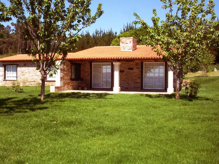 Casa de piedra gallega fachadas casa pinterest - Entradas de casas rusticas ...