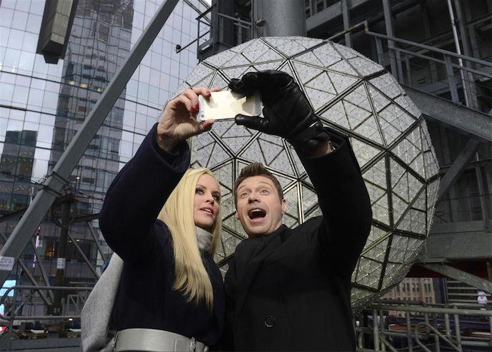 What are you doing for New Year's Eve Celebration? Staying home or going out? #NewYearsRockEve Here's the line up for ABC TV tonight with Ryan Seacrest