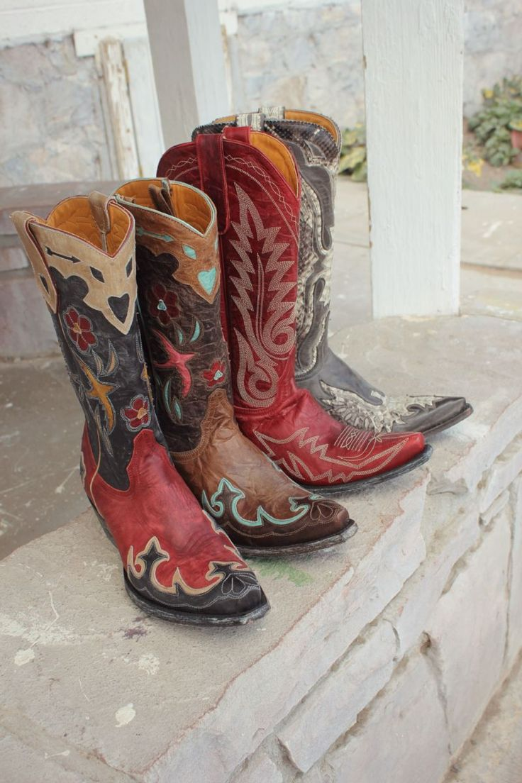 Vintage inspired Old Gringo boots at Boot Star
