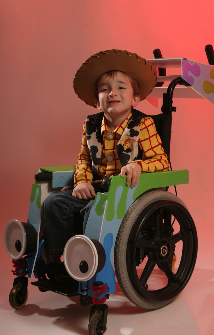 Father Creates Wheelchair 'Costumes' For Son