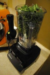 The mac daddy of all blenders: the Vitamix. #greensmoothies #smoothies