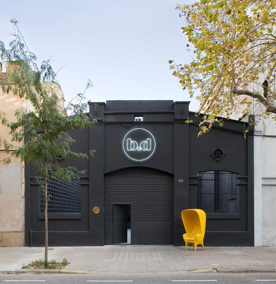 BD Barcelona Design Gallery - minimal new industrial space for Spanish design giant...