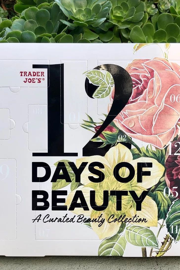 Trader Joe's New Beauty Advent Calendar Would Make a