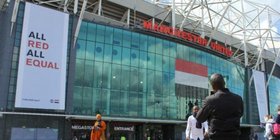 Manchester United football club dedicates match to equality and diversity