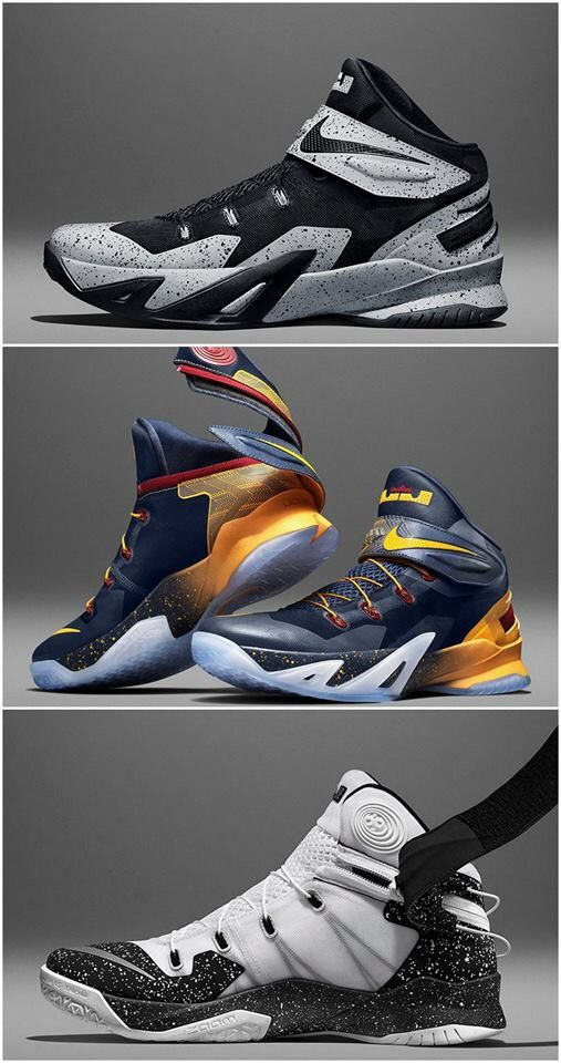 New Lebron James soldier 8 color drop