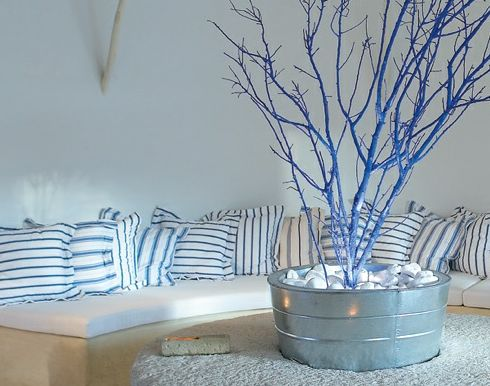 Mykonos Blue Resort demonstrates Greek decor style with a minimalist approach. The rooms feel so fresh, something everyone will appreciate during the summer heat!